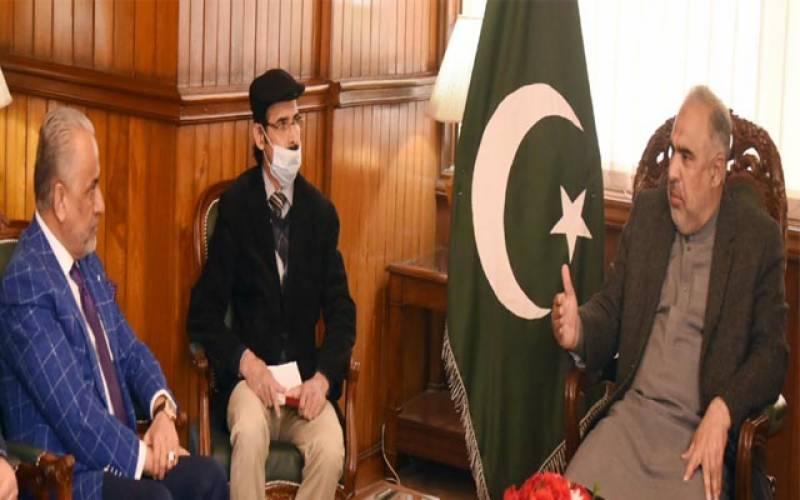 افغان وزیر برائے صنعت وتجارت کی اسپیکر قومی اسمبلی سے ملاقات