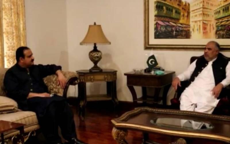 عثمان بزدار اور اسد قیصر کی ملاقات،ملکی سیاسی و معاشی صورتحال پر تبادلہ خیال کرینگے