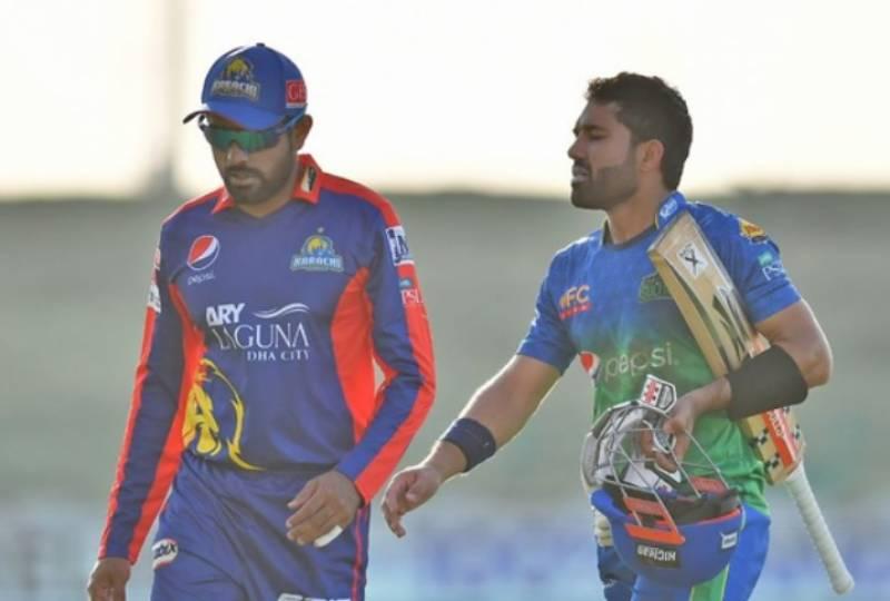 ملتان سلطانز نے کراچی کنگز کو جیت کے لیے 177 رنز کا ہدف دے دیا
