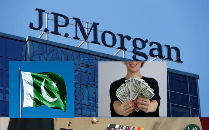 جے پی مورگن نے پاکستان کو سرمایہ کاری کیلئے بہتر ملک قرار دیدیا