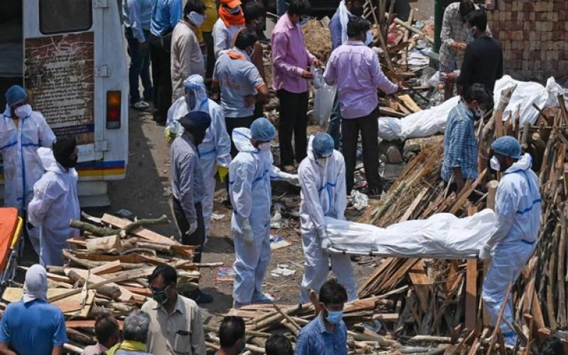 بھارت ۔۔کورونا کےحملوں کا نیا ریکارڈ ۔۔ایک دن میں6148افرادہلاک