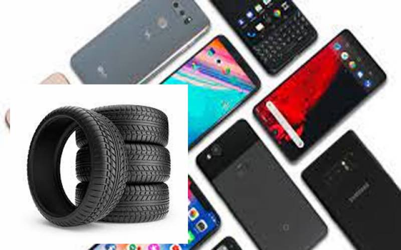 ٹائرز،  موبائل، فون کالز، ایس ایم ایس اور انٹرنیٹ پیکیج مہنگے کر دیئے گئے