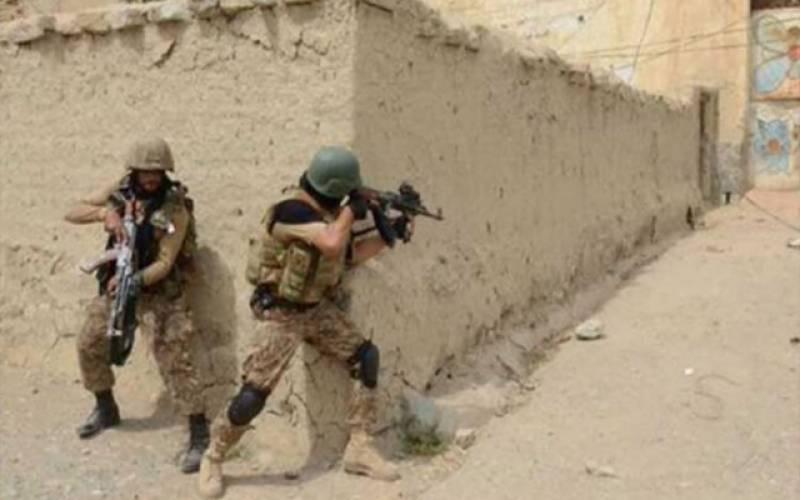 خاران میں سیکیورٹی فورسز کا آپریشن، دودہشتگرد ہلاک