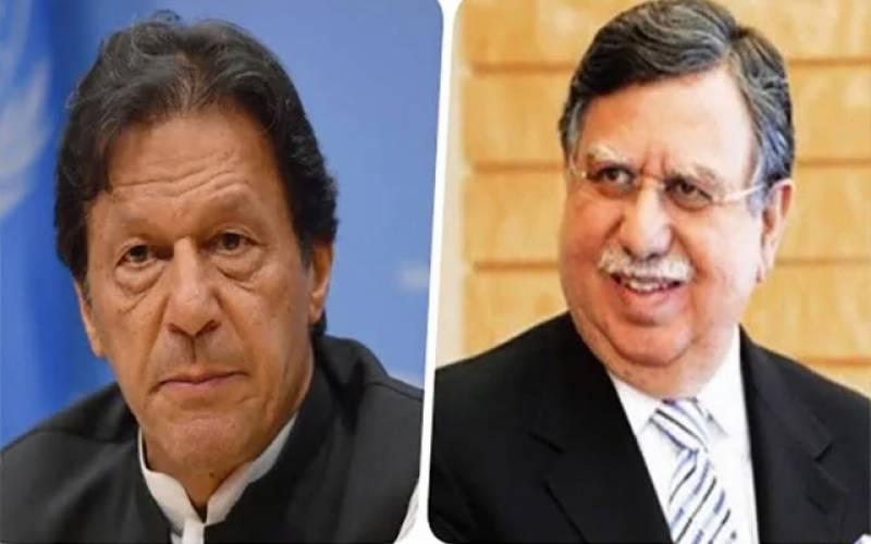 اتنا اچھابجٹ۔۔عمران خان کی وزیر خزانہ کو ان کی نشست پر جاکر مبارک باد