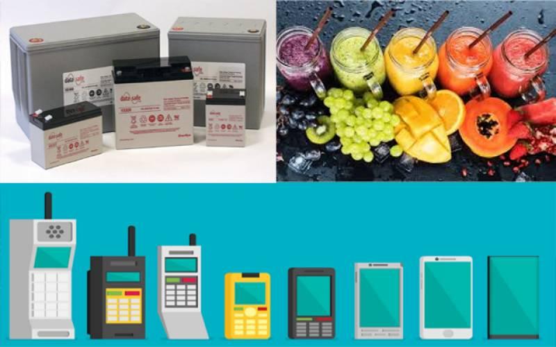 موبائل فون،بیٹریاں مہنگی۔۔خوردنی تیل ، گھی،جوس اور فولاد سستا