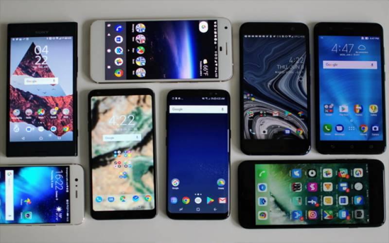 رواں برس کی پہلی سہ ماہی۔۔ اسمارٹ فونز کی فروخت میں 26 فیصد اضافہ