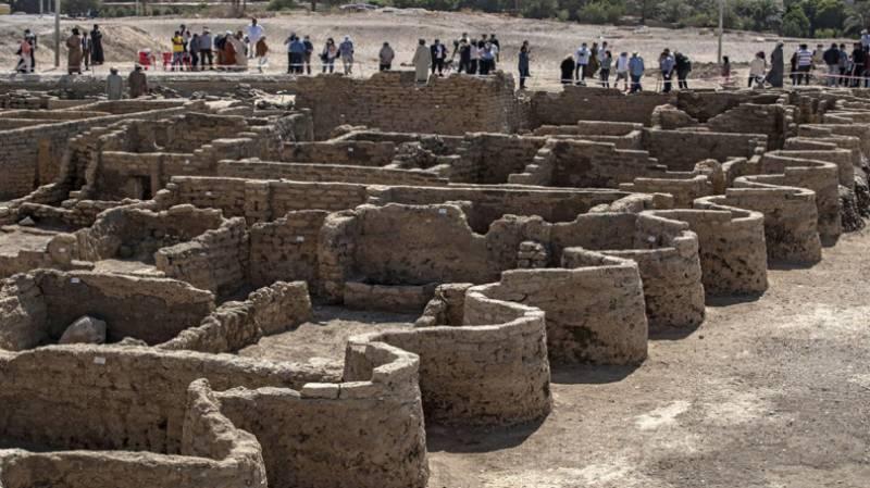 مصر: 3000 سال پرانا شہر 'لوسٹ گولڈن سٹی' دریافت