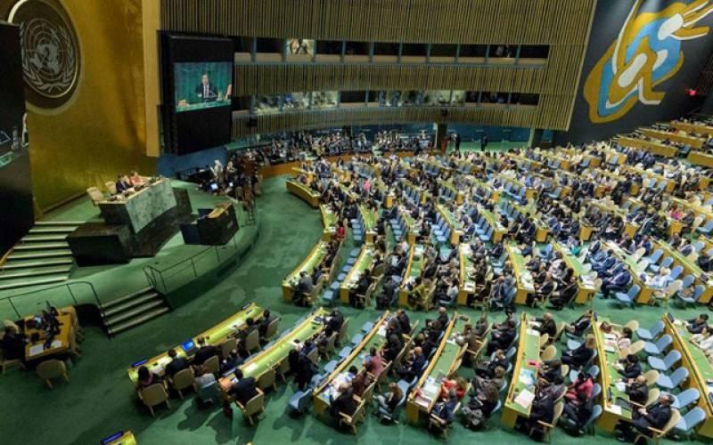 اقوام متحدہ اجلاس۔ جھوٹ بول کر حقیقت نہیں چھپ سکتی۔پاکستان نے بھارت کو کھری کھری سنا دیں