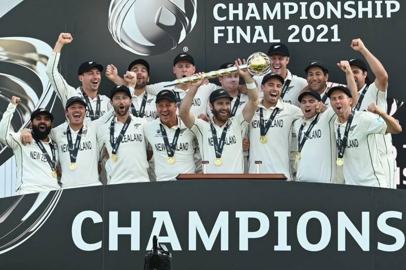 نیوزی لینڈ بھارت کو دھول چٹا کر ٹیسٹ کرکٹ کا عالمی چیمپئن بن گیا