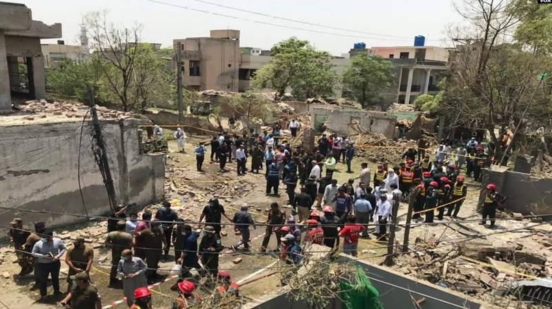 لاہور: جوہر ٹاﺅن دھماکے کا مقدمہ درج