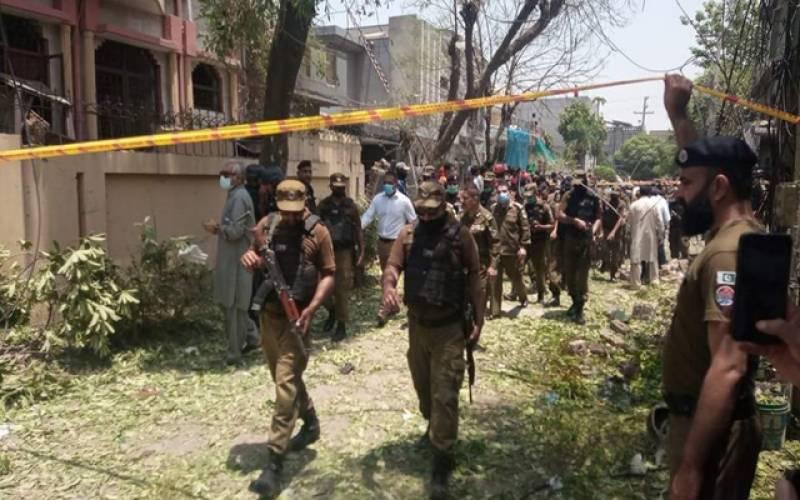 لاہور دھماکا۔۔گاڑی پارک کرنے والا ملزم بھی گرفتار