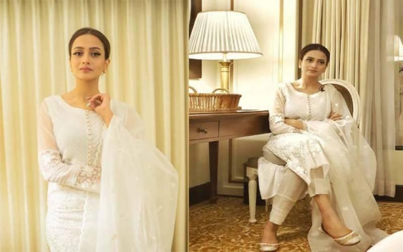 اداکارہ زرنش خان رنگت پر تبصرہ کر نیوالےصارف پر برہم