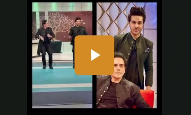 احسن خا ن کی زوہیب حسن کے سا تھ ڈانس کی ویڈیو وا ئرل
