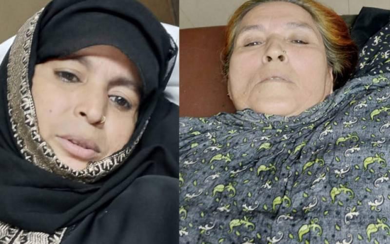 پولیس سے بھاگتے ملزم کی منی بس میں فائرنگ، دو خواتین زخمی