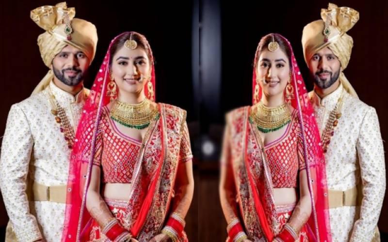 بگ باس 14 کے رنر اپ راہول ویدیا نے اپنی دوست سے شادی کرلی، تصاویر وائرل