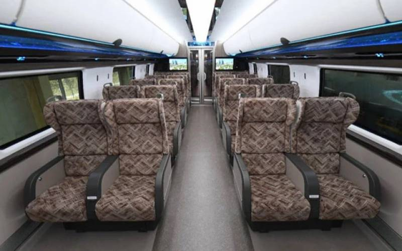 چین:تیز رفتار مسافر ٹرین 600کلو میٹر فی گھنٹہ دوڑ ے گی
