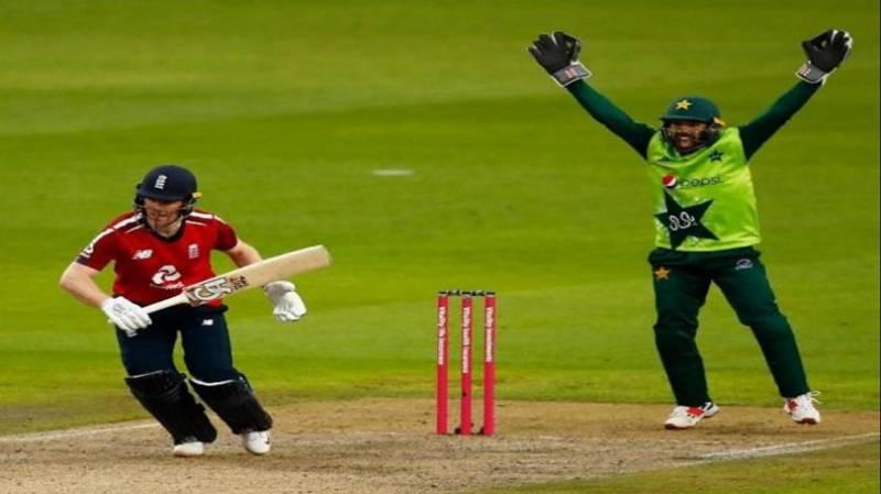 پاکستان کو آخری ٹی ٹوینٹی میں شکست، انگلینڈ نے سیریز2.1 سے جیت لی