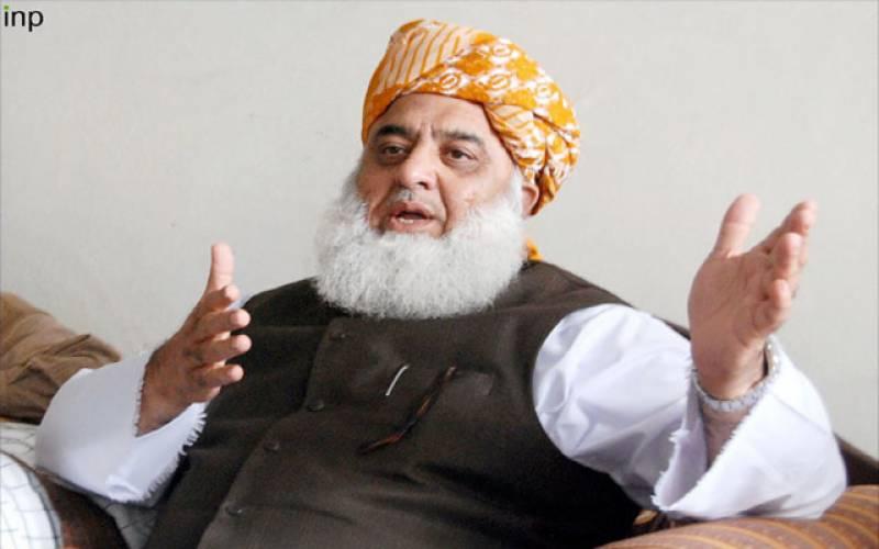 جس طرح کشمیر الیکشن ہواس سے تو سقوط کشمیر کا خدشہ ہے۔۔ فضل الرحمان