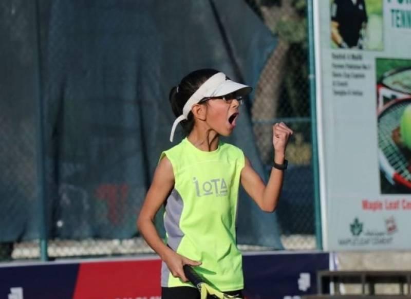 پا کستان کی 10سالہ ہانیہ نے ایشین ٹینس چیمپئن شپ کا ٹا ئٹل جیت لیا