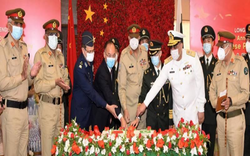 چینی اور پاک فوج مشکل وقت کے بھائی ہیں ،آرمی چیف جنرل باجوہ