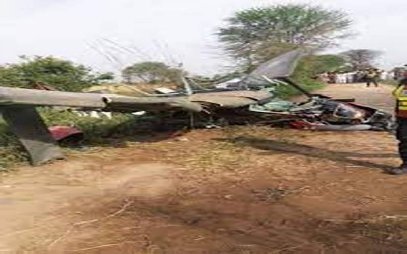 پاک آرمی کا تربیتی طیارہ گر کر تباہ