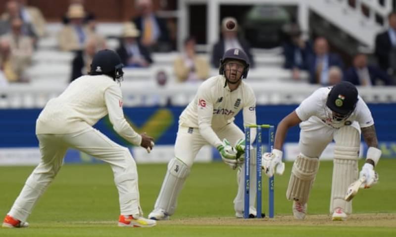 انگلینڈ اور بھارت کے درمیان دوسرے ٹیسٹ میچ کاآغاز ہو گیا