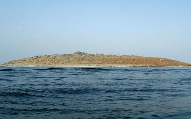 بلوچستان۔۔۔۔ساحل کے قریب اچانک جزیرہ ابھر آیا