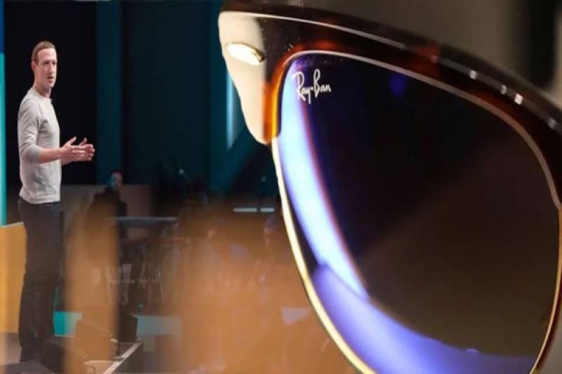 فیس بک نے اپنی پہلی سمارٹ عینک متعارف کرادی