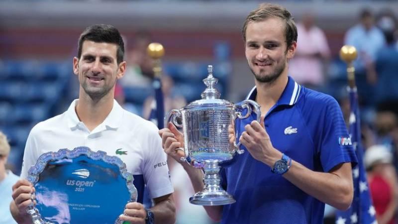 یو ایس اوپن ٹینس ۔۔ فائنل میں روس کے ڈینئل میدیدویو کی سربیا کے نواک جوکووچ کو شکست