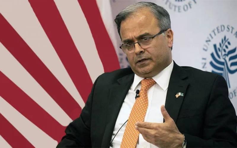 پاکستان اور امریکا افغانستان میں امن چاہتے ہیں، پاکستانی سفیر