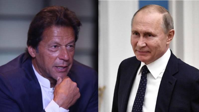 پیوٹن کاعمران خان سے ٹیلیفون رابطہ،افغانستان کی صورتحال پر بات چیت