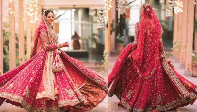 منا ل خان کے عروسی جوڑے کو کتنے لوگوں نےتیار کیا؟جان کر آپ کو بھی جھٹکا لگ جا ئے گا