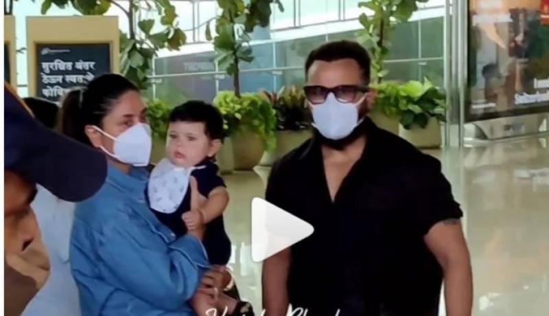 کرینہ کپور کو سکیورٹی اہلکاروں نے ایئرپورٹ پر روک لیا۔۔ویڈیو وائرل