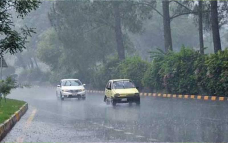 اسلام آباد میں بارش اور برف باری