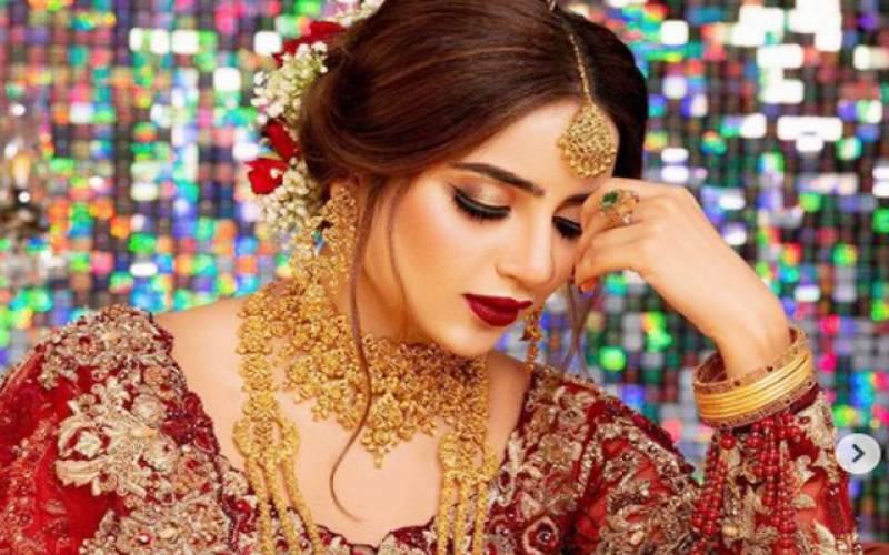 صبور علی،عروسی جوڑا،تصاویر،وائرل