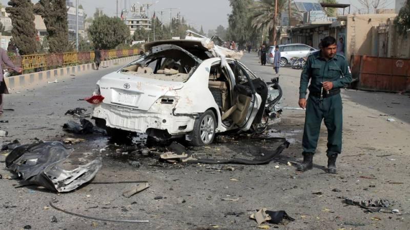 افغاستان، کار، بم ،حملہ