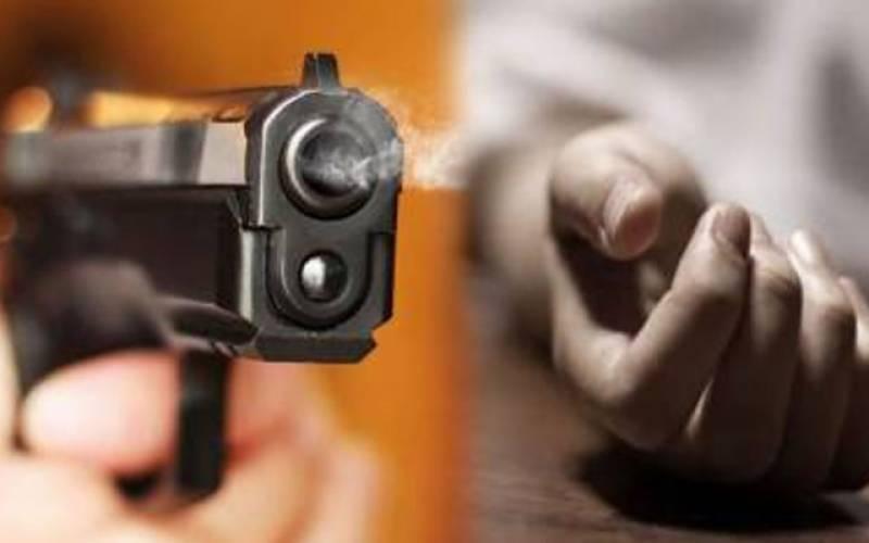 گھریلو جھگڑے پر فائرنگ