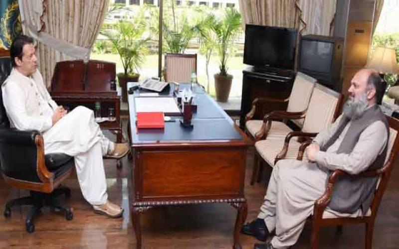 وزارت۔بلوچستان۔ملاقاتیں۔اسلام آباد